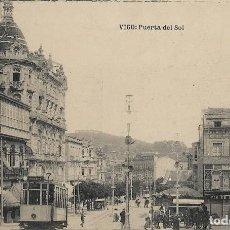 Postales: POSTAL ANTIGUA DE VIGO, PUERTA DEL SOL. GALICIA. Lote 244653525