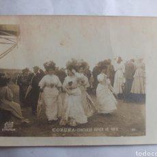 Postales: FOTOGRAFÍA POSTAL FERRER LA CORUÑA. CONCURSO HÍPICO DE 1908. GALICIA.. Lote 244662900