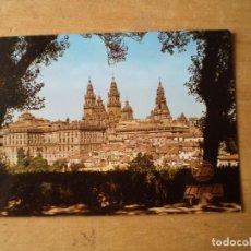 Postales: IBERIA SANTIAGO DE COMPOSTELA VISTA GENERAL. Lote 244676890