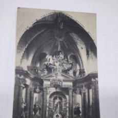 Postales: BETANZOS ARTÍSTICO Y ARQUITECTÓNICO ALTAR MAYOR IGLESIA DE S. FRANCISCO, QUEMADO POR LOS ROJOS 1936. Lote 244994655