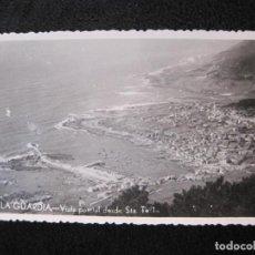 Postales: LA GUARDIA-VISTA PARCIAL DESDE SANTA TECLA-FOTOGRAFICA-POSTAL ANTIGUA-(78.101). Lote 245996635