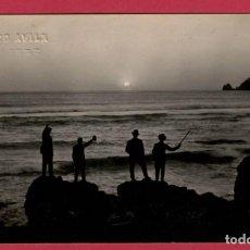 Postales: FINISTERRE FISTERRA CORUÑA MAR DE FORA PUESTA DE SOL FEDERICO AVILA POSTAL FOTOGRAFICA. Lote 246109450