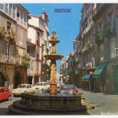Postales: EM0023 ORENSE PLAZA DE HIERRO 1969 ED PARIS Nº974 SEAT 600 RENAULT 8 12 FAMILIAR. Lote 247633170