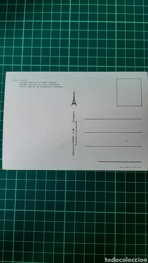 Postales: POSTAL LUGO PARIS EDICIONES 472 VER LOTES POSTALES COLISEVM COLECCIONISMO - Foto 2 - 248661235