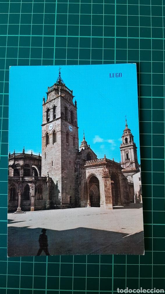 LUGO POSTAL POSTAL VINTAGE 190 EDICIONES PARIS ZARAGOZA CATEDRAL COLECCIONISMO COLISEVM LIBRERIA (Postales - España - Galicia Moderna (desde 1940))