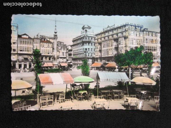 LA CORUÑA-JARDINES Y CANTON GRANDE-EDICIONES ARRIBAS-252-POSTAL ANTIGUA-(78.682) (Postales - España - Galicia Antigua (hasta 1939))