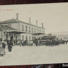 Postales: POSTAL DE ORENSE, LA ESTACION, N. 2, ED. THOMAS, NO CIRCULADA.. Lote 251155855