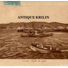 Postales: VIGO / MUELLE DE CARGA / EDICION GRAFICAS VILLARROCA. Lote 252599490