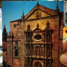 Postales: POSTAL SANTIAGO DE COMPOSTELA IGLESIA DE SAN MARTÍN PIGNARIO FACHADA N 3047 FAMA S/C. Lote 253174135