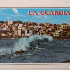 Postales: POSTAL LA GUARDIA PONTEVEDRA GALICIA - VISTA PARCIAL ROMPEOLAS - EDICIONES ARRIBAS NÚMERO 7. Lote 253216595