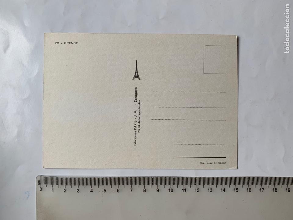 Postales: POSTAL. ÓRENSE. ASPECTOS VARIOS. EDICIONES PARIS. - Foto 2 - 253442140