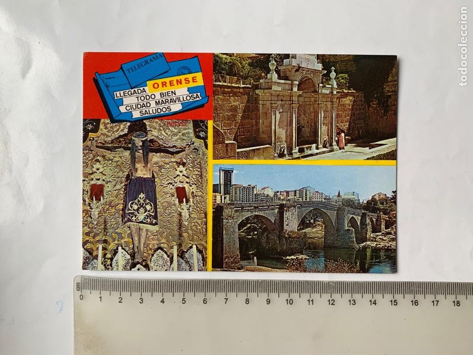 POSTAL. ÓRENSE. ASPECTOS VARIOS. EDICIONES PARIS. (Postales - España - Galicia Moderna (desde 1940))
