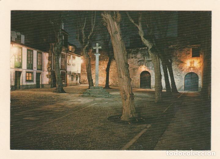 POSTAL PLAZUELA DE LAS BARBARAS. LA CORUÑA (1973) (Postales - España - Galicia Moderna (desde 1940))