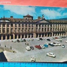 Postales: SANTIAGO DE COMPOSTELA - LA CORUÑA ( COCHES DE LA EPOCA ) / ( NOV2021CONF). Lote 254016670