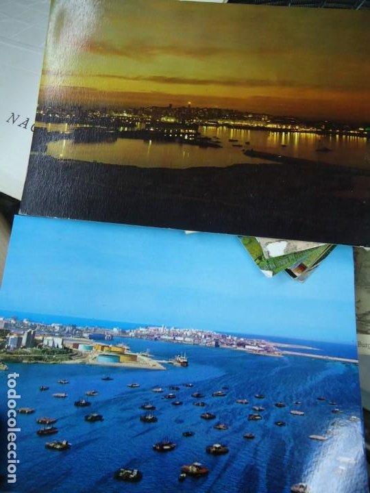 Postales: LOTE DE 2 POSTALES DE LA CORUÑA RARAS MIDEN 15 X 10 cm. DE REGALO ESTA DE LA TORRE DE HÉRCULES - Foto 2 - 254943840