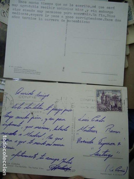 Postales: LOTE DE 2 POSTALES DE LA CORUÑA RARAS MIDEN 15 X 10 cm. DE REGALO ESTA DE LA TORRE DE HÉRCULES - Foto 3 - 254943840