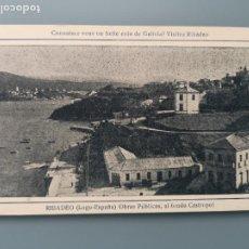 Postales: POSTAL RIBADEO LUGO AL FONDO CASTROPOL EDIC HOTEL COMERCIO PUBLICITARIA GALICIA PERFECTA CONSERVAC. Lote 255945255