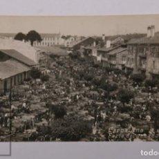 Postales: ANTIGUA POSTAL ORIGINAL DE ÉPOCA - CARBALLINO FERIA DE GANADO - ORENSE - CIRCULADA AÑO 1929. Lote 255990375