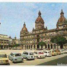 Postales: EM0751 CORUÑA PLAZA MARIA PITA 1972 ARRIBAS Nº121 RENAULT 4 8 SEAT 124 600 1430 850. Lote 257925485