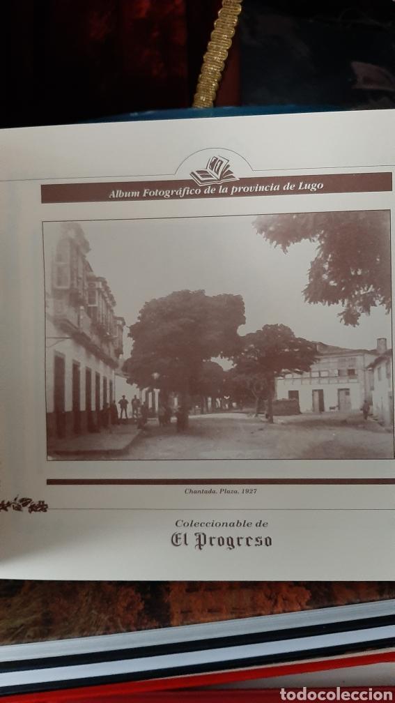 Postales: ALBUM FOTOGRÁFICO PROVINCIA LUGO ENCUADERNADO LIBRERIA O ALMACÉN DO COLISEVM TODO EN PAPEL ANTIGUO - Foto 3 - 257968500