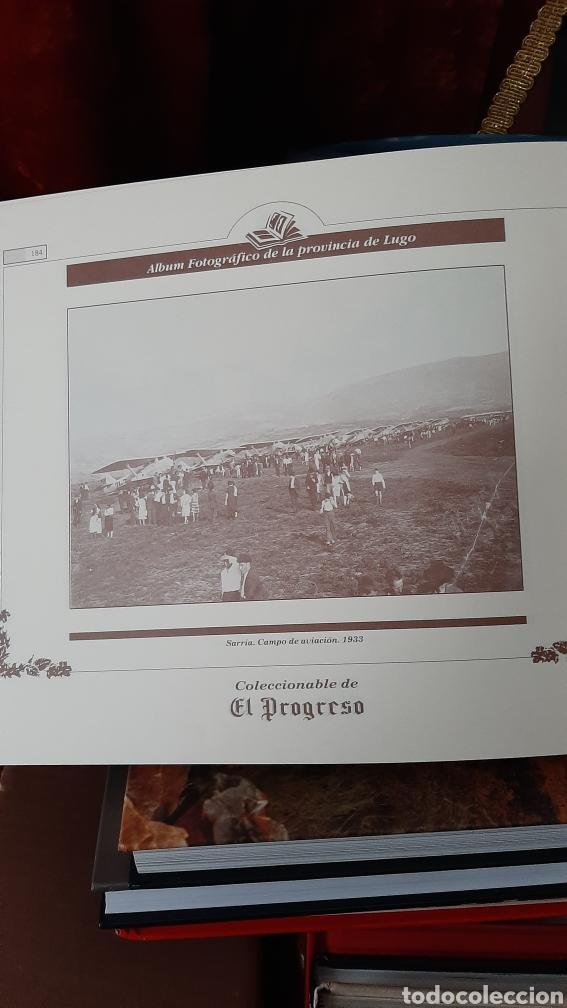 Postales: ALBUM FOTOGRÁFICO PROVINCIA LUGO ENCUADERNADO LIBRERIA O ALMACÉN DO COLISEVM TODO EN PAPEL ANTIGUO - Foto 7 - 257968500