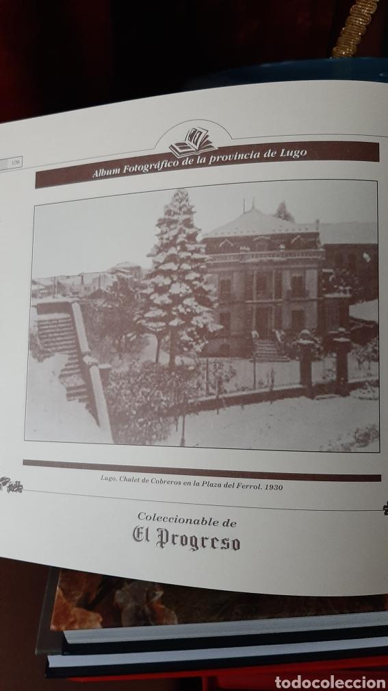 Postales: ALBUM FOTOGRÁFICO PROVINCIA LUGO ENCUADERNADO LIBRERIA O ALMACÉN DO COLISEVM TODO EN PAPEL ANTIGUO - Foto 8 - 257968500