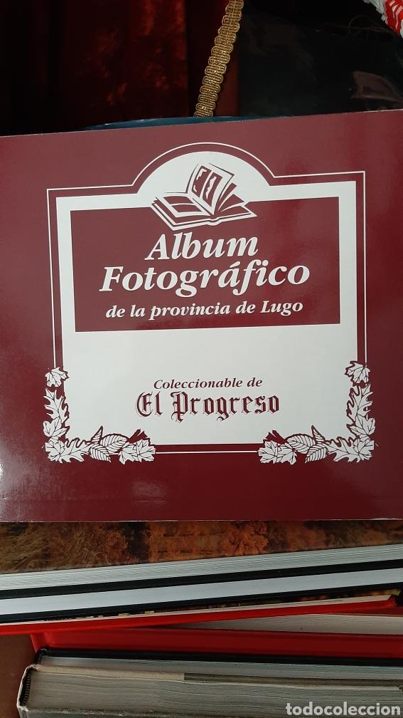 ALBUM FOTOGRÁFICO PROVINCIA LUGO ENCUADERNADO LIBRERIA O ALMACÉN DO COLISEVM TODO EN PAPEL ANTIGUO (Postales - España - Galicia Moderna (desde 1940))