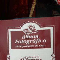 Postales: ALBUM FOTOGRÁFICO PROVINCIA LUGO ENCUADERNADO LIBRERIA O ALMACÉN DO COLISEVM TODO EN PAPEL ANTIGUO. Lote 257968500