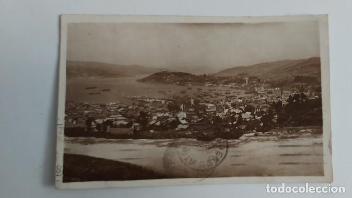 ANTIGUA POSTAL FOTOGRAFICA DE VIGO - Nº 49 - NO LO PONE PERO ES CARL MÜLLER & SOHN - CIRCULADA - EN (Postales - España - Galicia Antigua (hasta 1939))