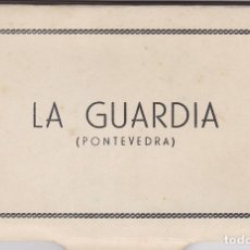 Postales: PONTEVEDRA LA GUARDIA BLOC COMPLETO CON 10 POSTALES FOTOGRAFICAS. ED. POLIGRAFICA. Lote 261996510