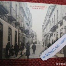 Postales: GALICIA PONTEVEDRA - CALLE OLIVA - EDI THOMAS Nº 6301 - S/C + INFO. Lote 262283990