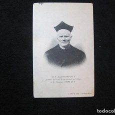 Postales: R.P. JULIO FURGUS-FUNDADOR MUSEO ANTIGUEDADES...-ORIHUELA-POSTAL ANTIGUA-(80.443). Lote 262299965