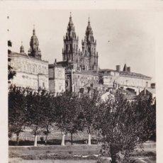 Postales: LA CORUÑA SANTIAGO DE COMPOSTELA VISTA. ED. FOTO ROISIN Nº 99. SIN CIRCULAR. Lote 263068000