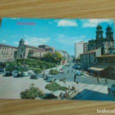 Postales: PONTEVEDRA -- AVENIDA DE ORENSE PEREGRINA Y SAN FRANCISCO. Lote 263121235