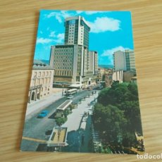 Postales: ORENSE -- CALLE CURROS ENRIQUEZ Y TORRE DE ORENSE. Lote 263121470