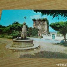 Postales: PUENTEDEUME -- LA CORUÑA -- TORRE DEL HOMENAJE DE ANDRADE. Lote 263121675