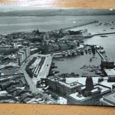 Cartes Postales: LA CORUÑA (AEREA) POSTAL NO.10, LA DÁRSENA CASTILLO DE S. ANTÓN Y DIQUE DE ABRIGO. EDITA: AEROPOST. Lote 264047180