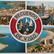 Postales: POSTAL 3649 VIGO. RECUERDO DE VIGO.. Lote 265207809