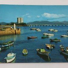 Postales: POSTAL 217. VIGO. PUERTO DE CANIDO E ISLA DE TORALLA.. Lote 265209604