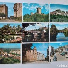 Postales: 9 POSTALES DE MONFORTE DE LEMOS. Lote 266322238