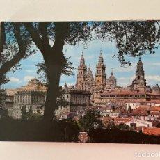 Postales: ACORDEON DE 10 POSTALES SANTIAGO DE COMPOSTELA. Lote 266331113
