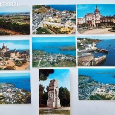 Postales: 9 POSTALES DE RIBADEO. Lote 266565238