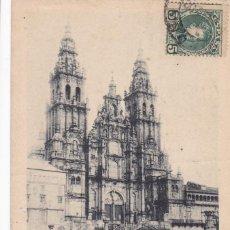 Postais: LA CORUÑA SANTIAGO DE COMPOSTELA. ED. HAUSER Y MENET Nº 449. REVERSO SIN DIVIDIR. CIRCULADA EN 1902. Lote 267250434