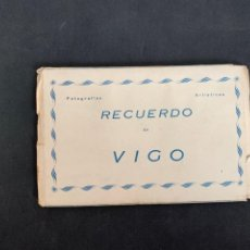 Postales: VIGO - LIBRITO DE 10 POSTALES 14 X 9 CM - ED. ARRIBAS. Lote 267456784