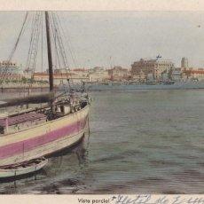 Cartes Postales: LA CORUÑA VISTA PARCIAL. ED. ARRIBAS Nº 128. POSTAL EN BYN COLOREADA. ESCRITA. Lote 267652939