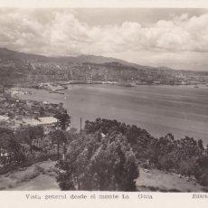 Cartes Postales: PONTEVEDRA VIGO VISTA DESDE MONTE LA GUIA. ED. BALMES Nº 7. CIRCULADA. Lote 267655544