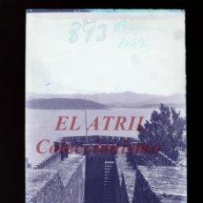 Postales: BAYONA, PONTEVEDRA CLICHE ORIGINAL NEGATIVO EN CELULOIDE AÑOS 1910-20 - FOTOTIP. THOMAS, BARCELONA. Lote 268269519