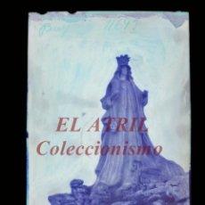 Postales: BAYONA, PONTEVEDRA CLICHE ORIGINAL NEGATIVO EN CELULOIDE AÑOS 1910-20 - FOTOTIP. THOMAS, BARCELONA. Lote 268269564