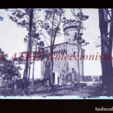 Postales: BAYONA, PONTEVEDRA CLICHE ORIGINAL NEGATIVO EN CELULOIDE AÑOS 1910-20 - FOTOTIP. THOMAS, BARCELONA. Lote 268269659