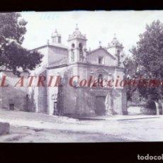 Postales: BAYONA, PONTEVEDRA CLICHE ORIGINAL NEGATIVO EN CELULOIDE AÑOS 1910-20 - FOTOTIP. THOMAS, BARCELONA. Lote 268269874